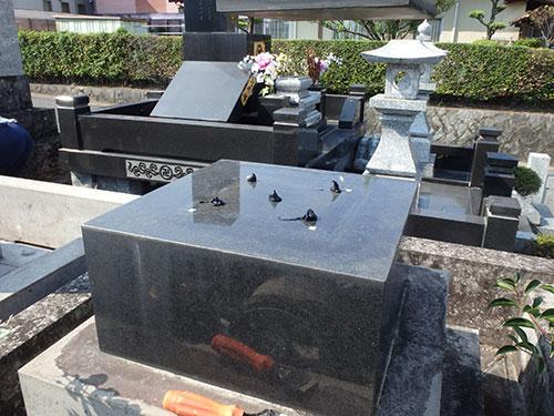 熊本県内のお墓の修正手順3